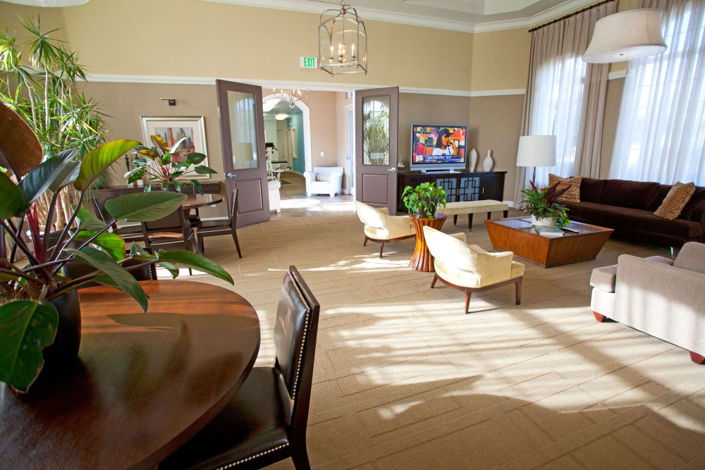 Spacious clubhouse at Legends Lake Mary in Lake Mary, FL