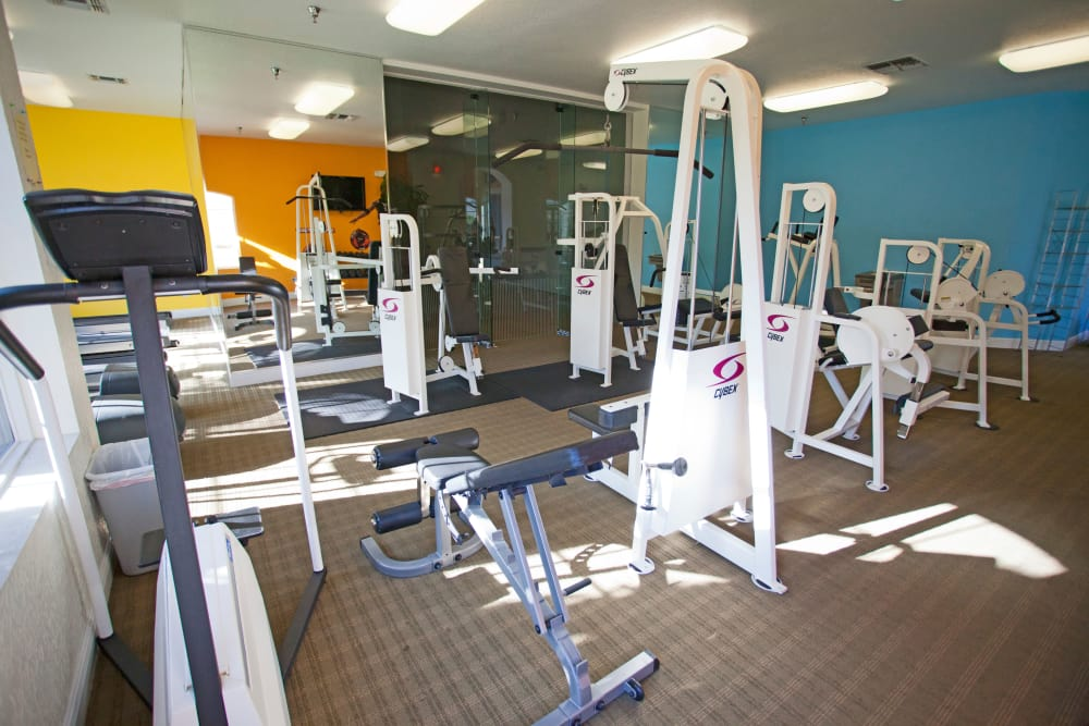 Fitness center at Legends Lake Mary inLake Mary, FL