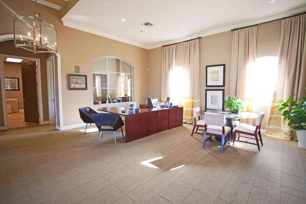 Leasing office at Legends Lake Mary in Lake Mary, FL