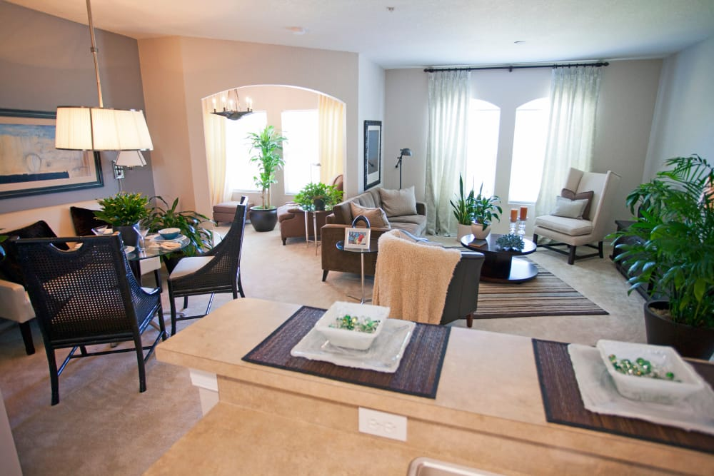 Spacious apartment interior at Legends Lake Mary in Lake Mary, FL