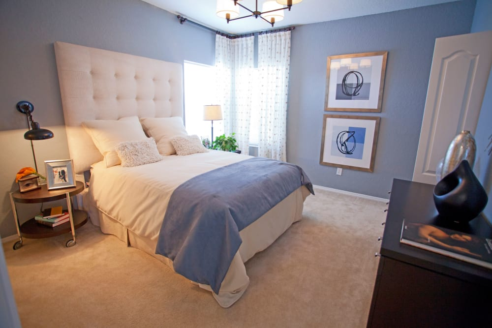 Master bedroom at Legends Lake Mary in Lake Mary, FL