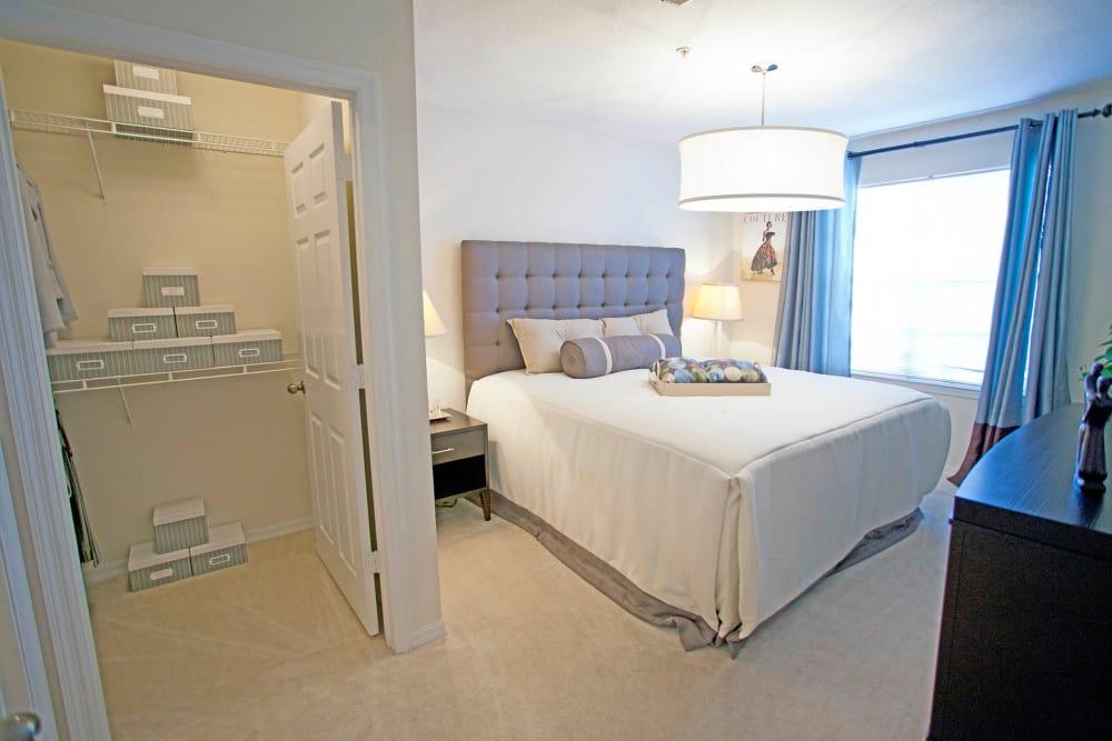 Master bedroom at Legends Winter Springs in Winter Springs, Florida