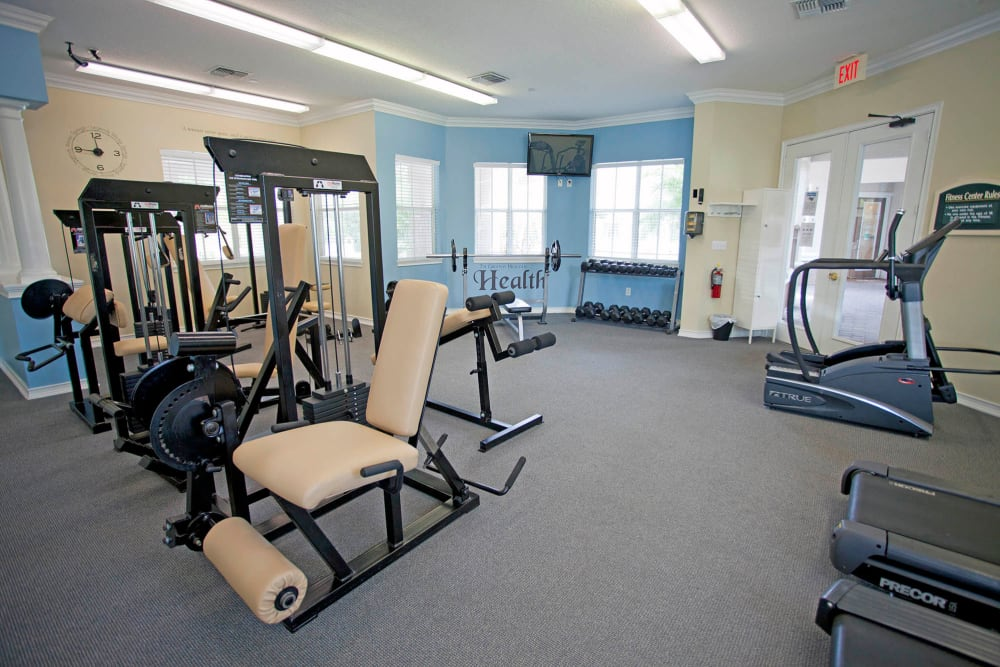 Fitness center at Legends Winter Springs in Winter Springs, Florida