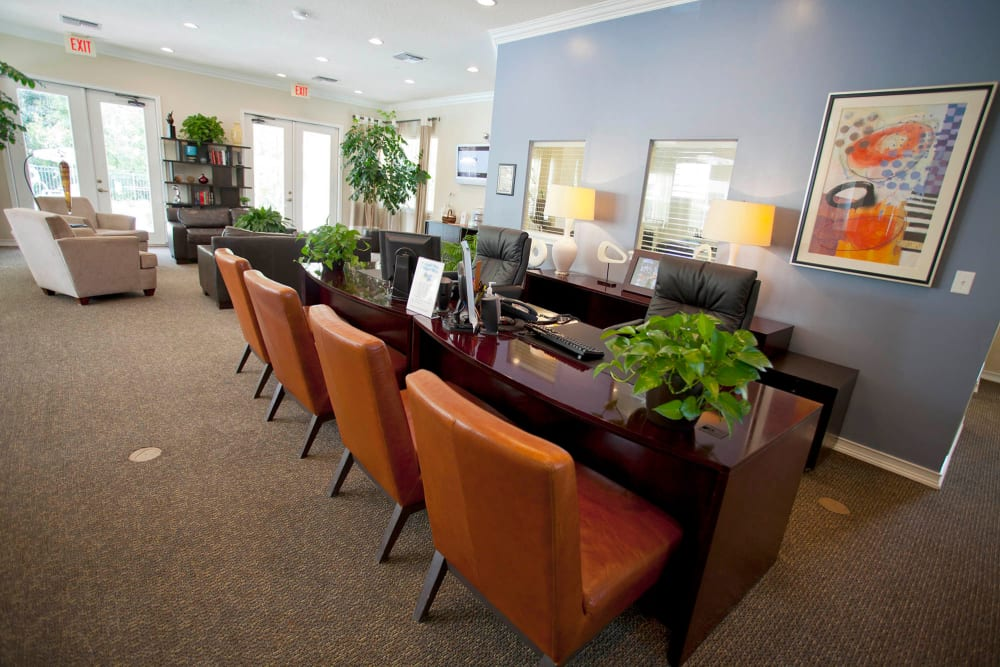 Community area at Legends Winter Springs in Winter Springs, Florida