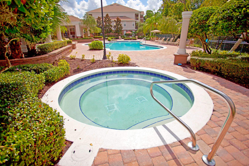 Hot tub at Legends Winter Springs in Winter Springs, Florida