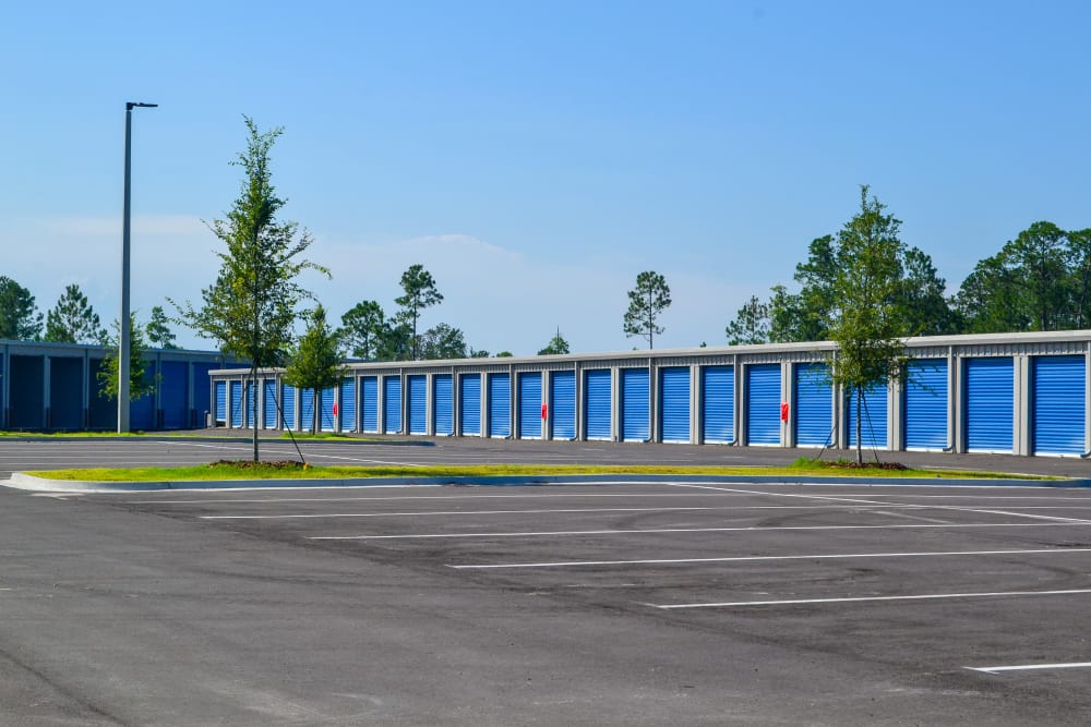 Atlantic Self Storage offers exterior drive up units in St. Augustine, Florida
