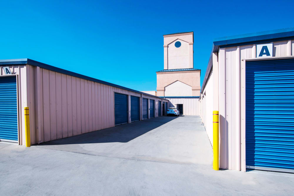 Exterior units at Otay Crossing Self Storage in San Diego, CA