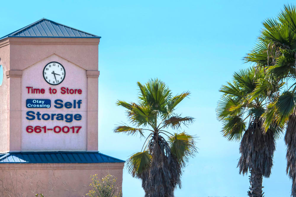 Storage units avaliable at Otay Crossing Self Storage in San Diego, CA
