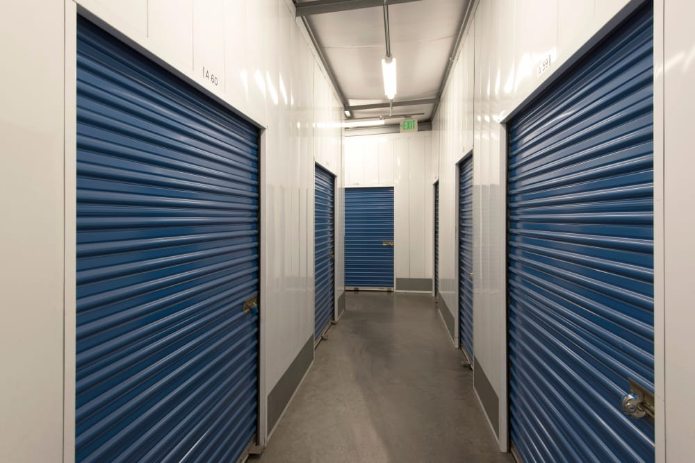Interior units at Otay Crossing Self Storage in San Diego, CA