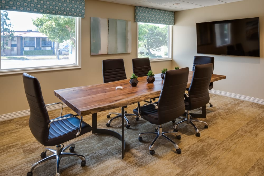 Conference room at The Montera in La Mesa, California