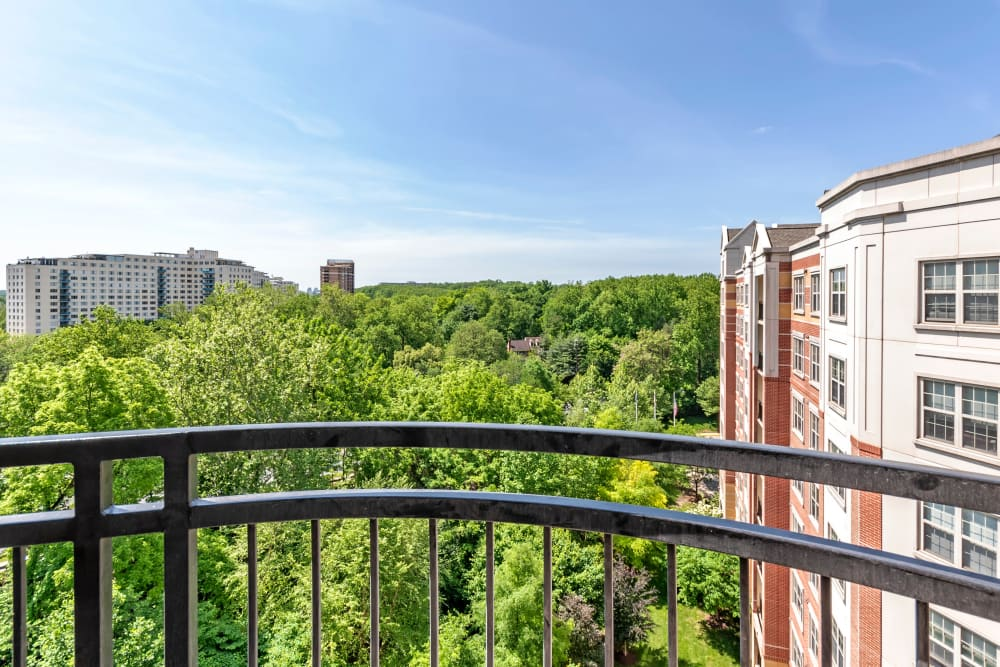 Apartment views at Bainbridge Companies in North Bethesda, MD