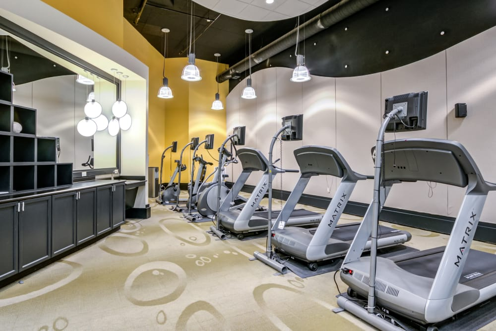 Fitness Center at Inigo's Crossing in North Bethesda MD