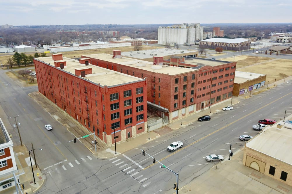 Aerial view of Reserves at The Lee Buildings | Salina, KS