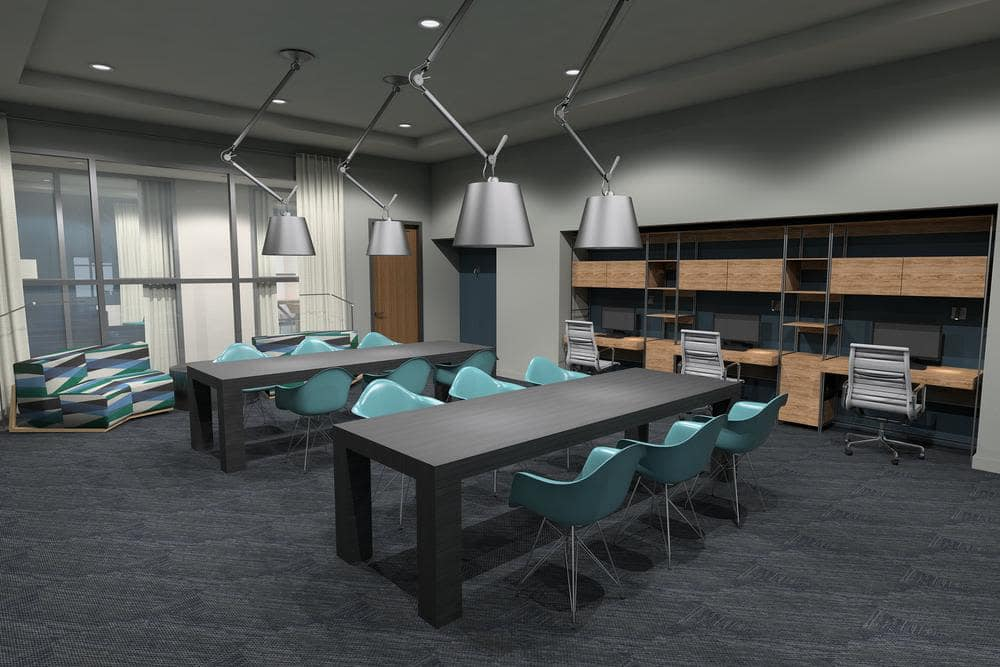 Business center at Sky at Chandler Airpark in Chandler, Arizona