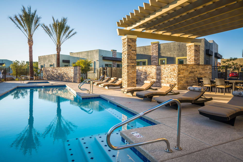 Enjoy a refreshing pool at Avilla Victoria in Queen Creek, Arizona