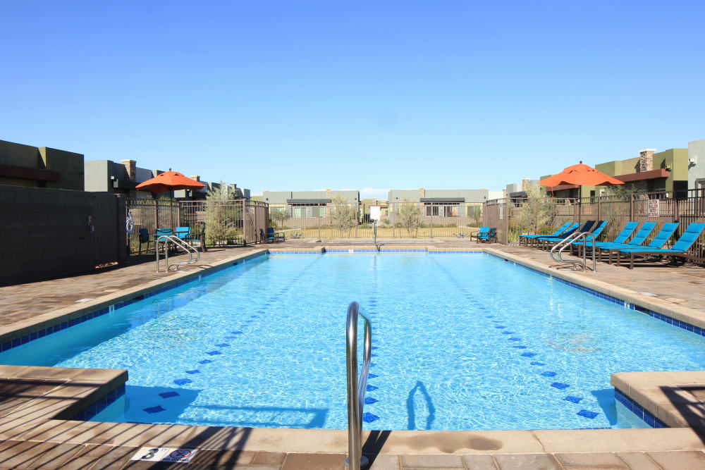 Swimming pool at Avilla Victoria in Queen Creek, Arizona