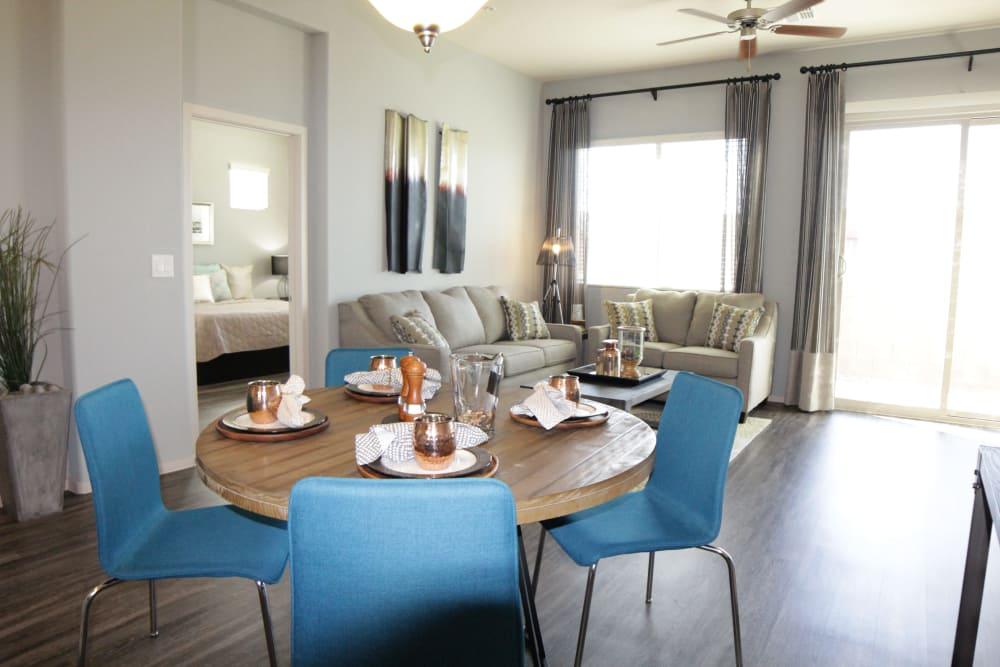Avilla Victoria showcases a spacious dining area in Queen Creek, Arizona