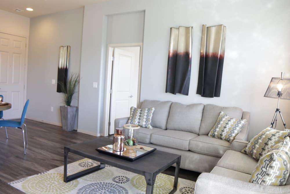 Luxury living room at Avilla Victoria in Queen Creek, Arizona