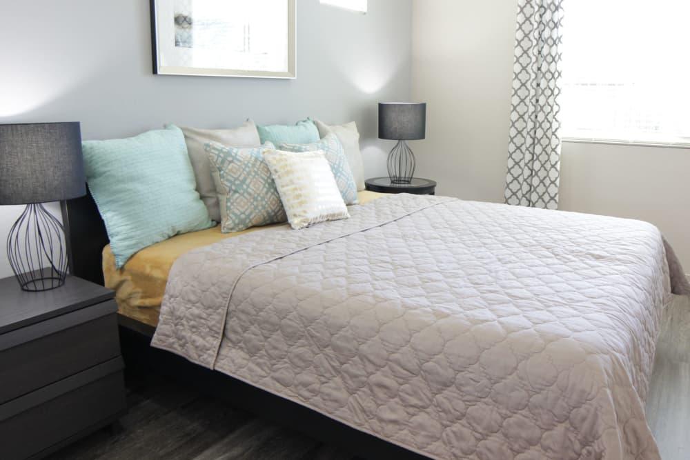 Cozy bedroom at Avilla Victoria in Queen Creek, Arizona