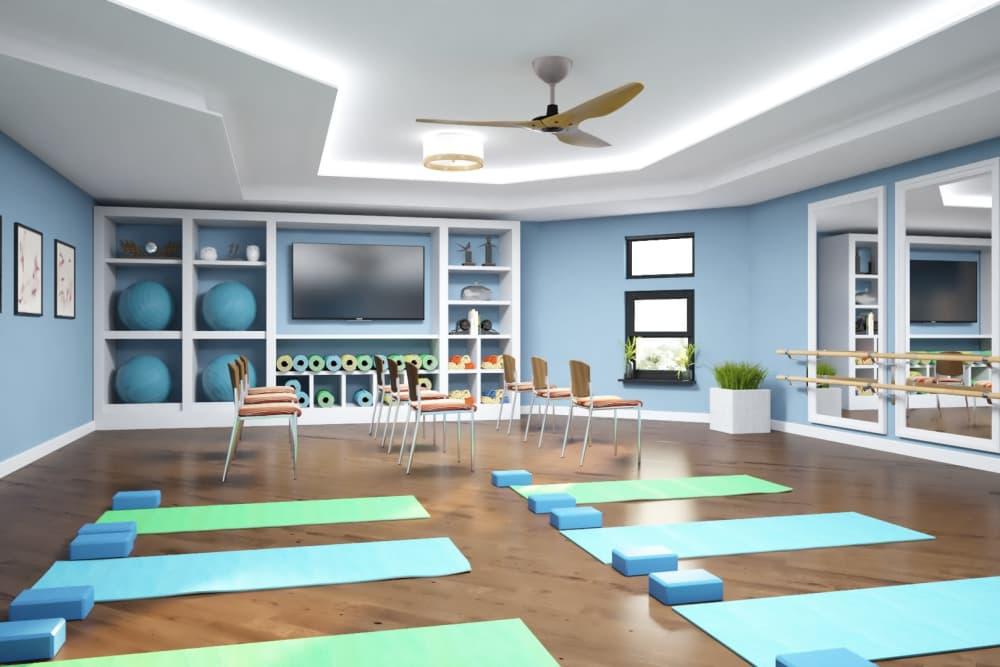 Yoga studio The Alexander in Bend, Oregon