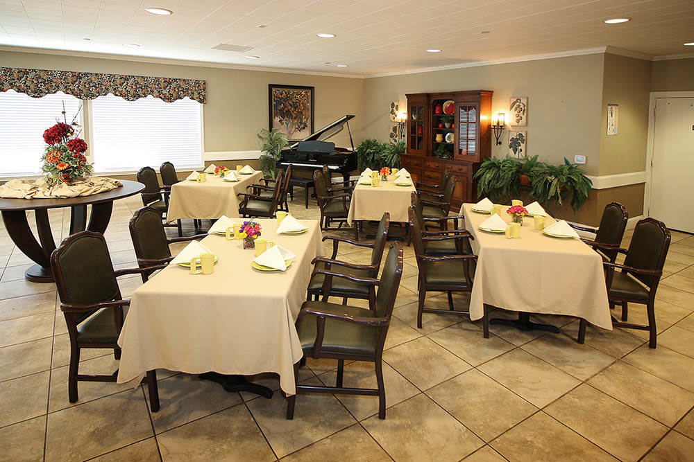 home style dining at Legacy Ranch in Midland,TX