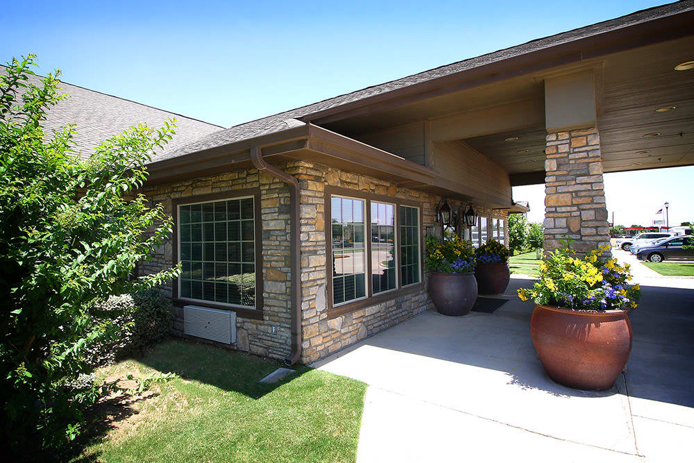 entry to Legacy Ranch in Midland,TX