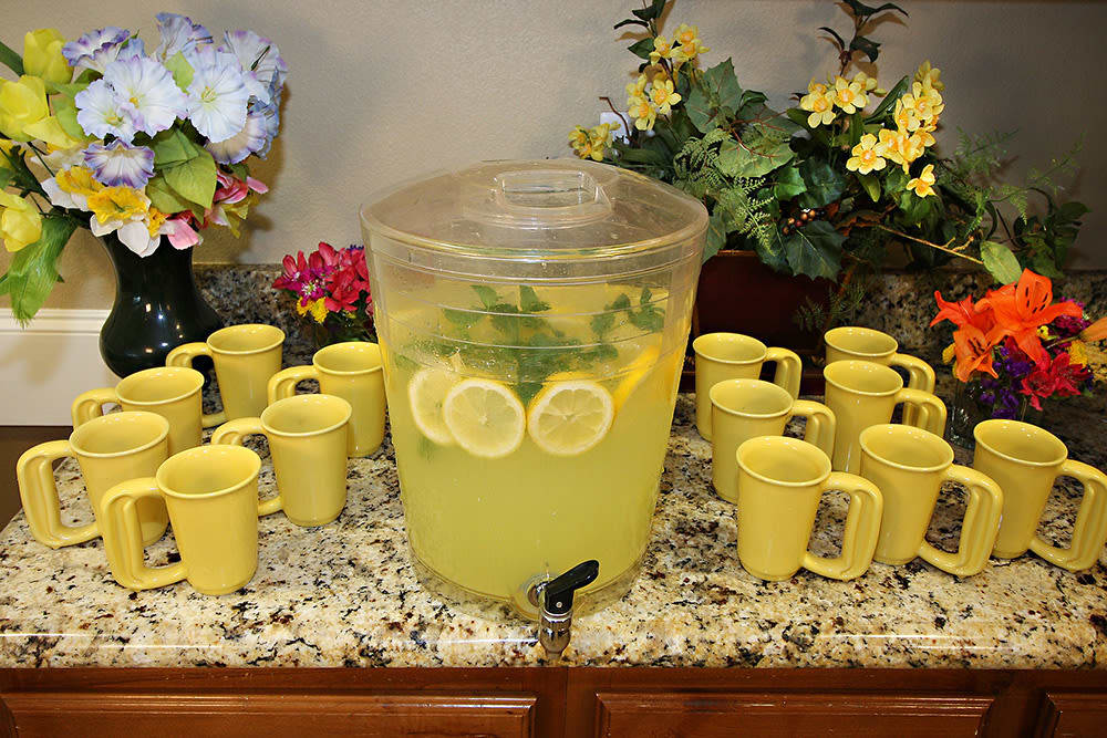 hydration station at Legacy Ranch in Midland,TX