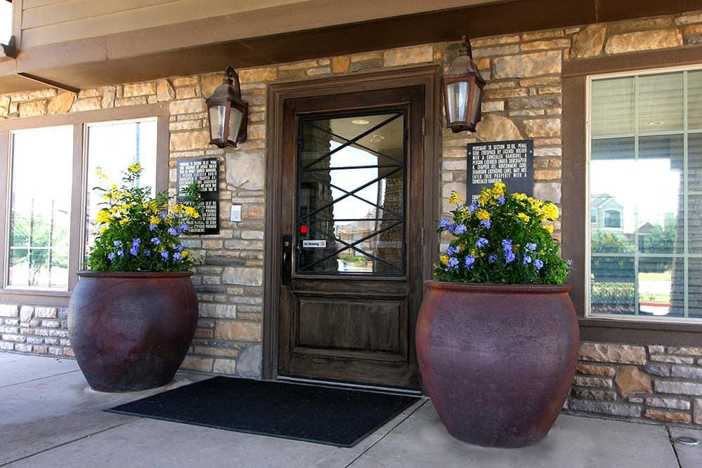 entry door at Legacy Ranch in Midland,TX