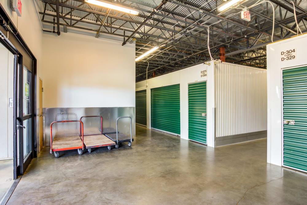 Entrance at Metro Self Storage in Montgomery, Alabama