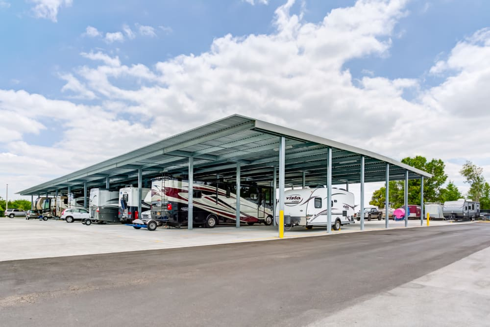 RV and Boat storage at Metro Self Storage in Orlando, Florida