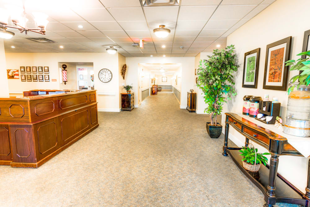 Lobby at Locust Grove Personal Care & Memory Care