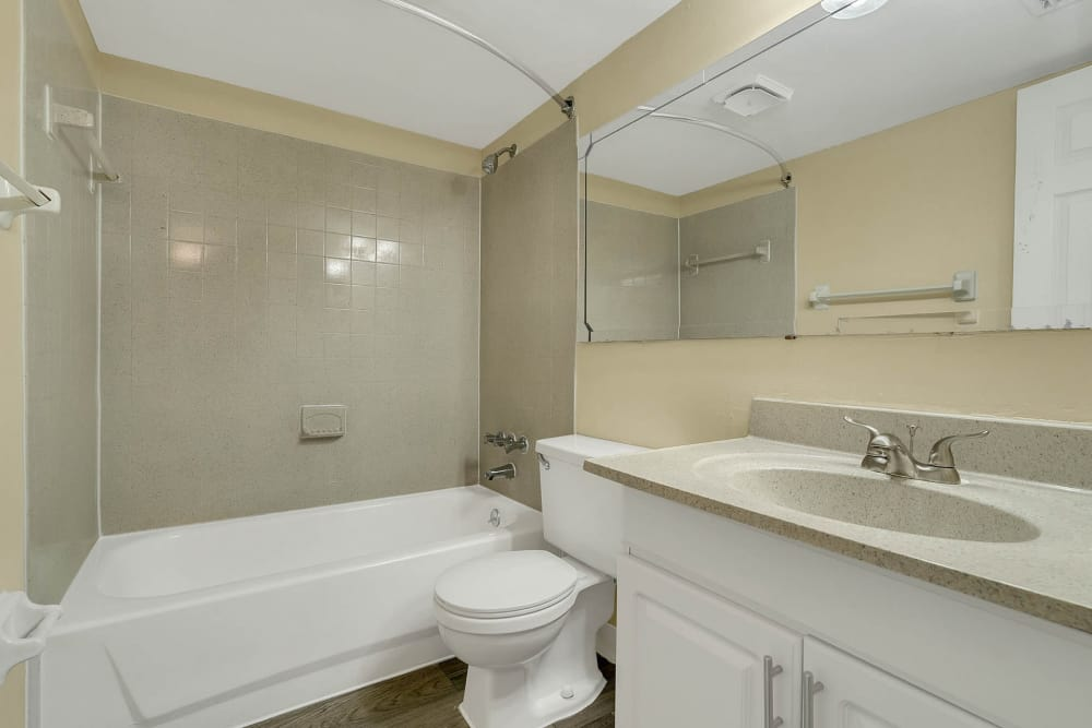 Beautiful bathroom at apartments in Altamonte Springs, Florida