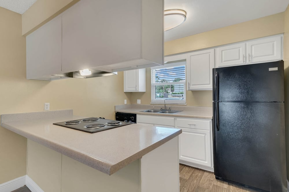 Beautiful kitchen at apartments in Altamonte Springs, Florida
