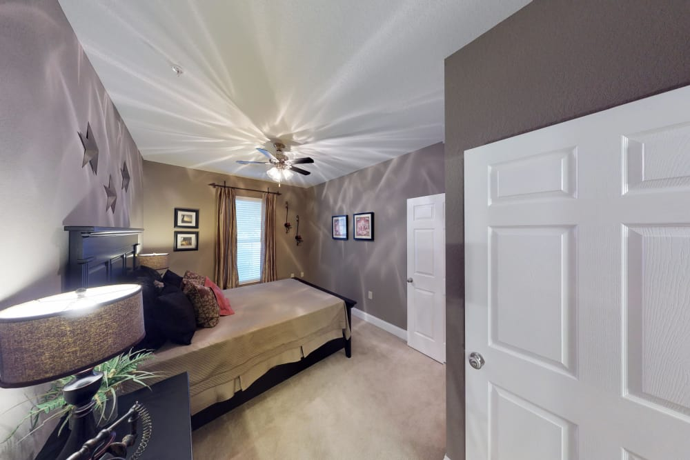 Master bedroom at The Enclave of Hardin Valley in Knoxville, Tennessee