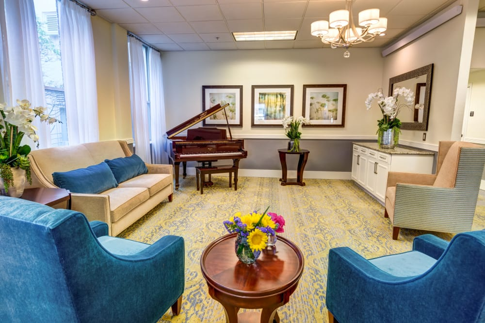 Piano at Queen Anne Manor Senior Living