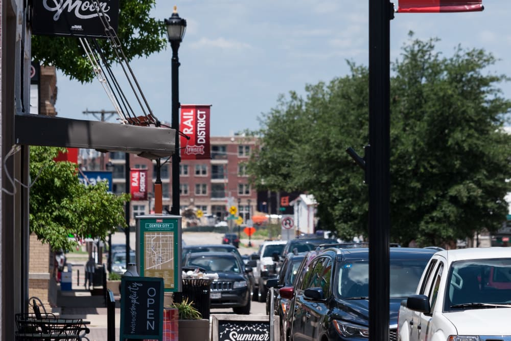 Downtown near Alta Frisco Square in Frisco, Texas