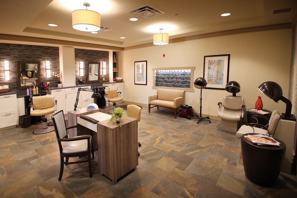 Spa & salon at Prairie House Assisted Living and Memory Care in Broken Arrow, Oklahoma