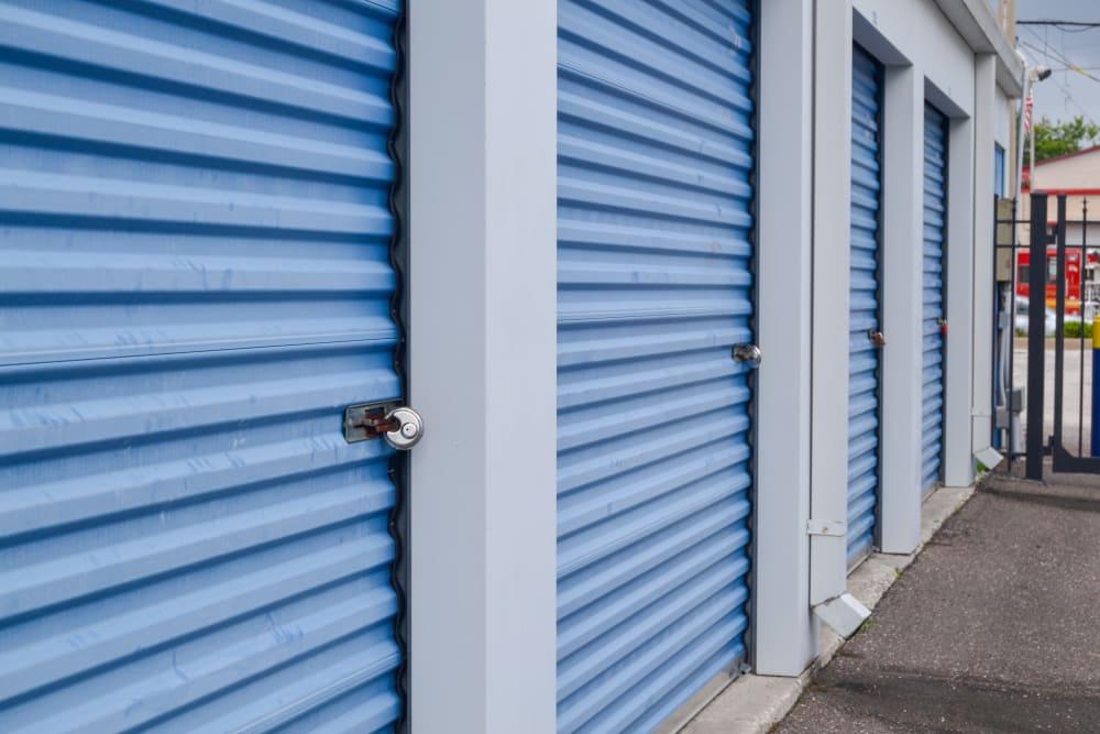 storage doors at Atlantic Self Storage