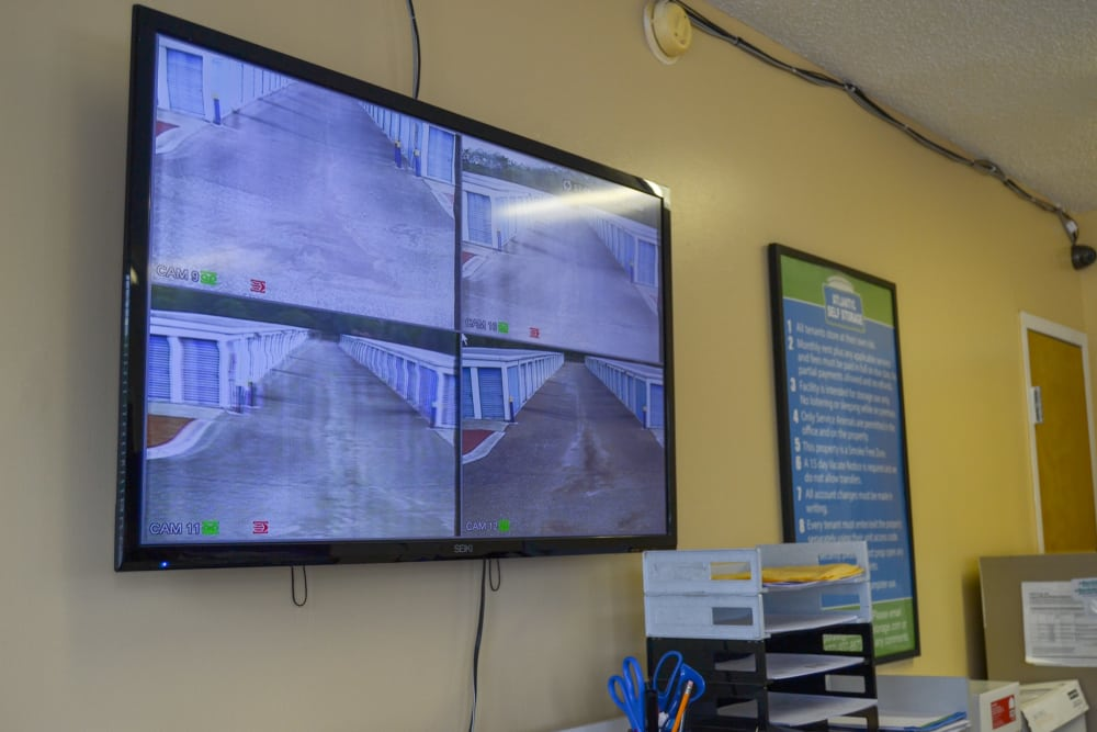 Atlantic Self Storage security cameras