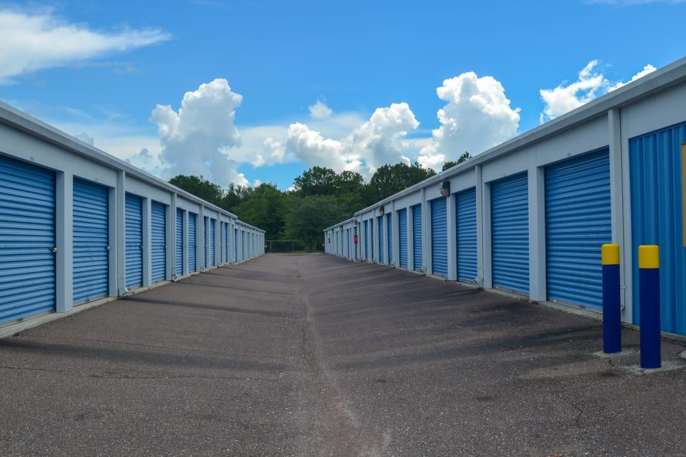 Exterior view of Atlantic Self Storage