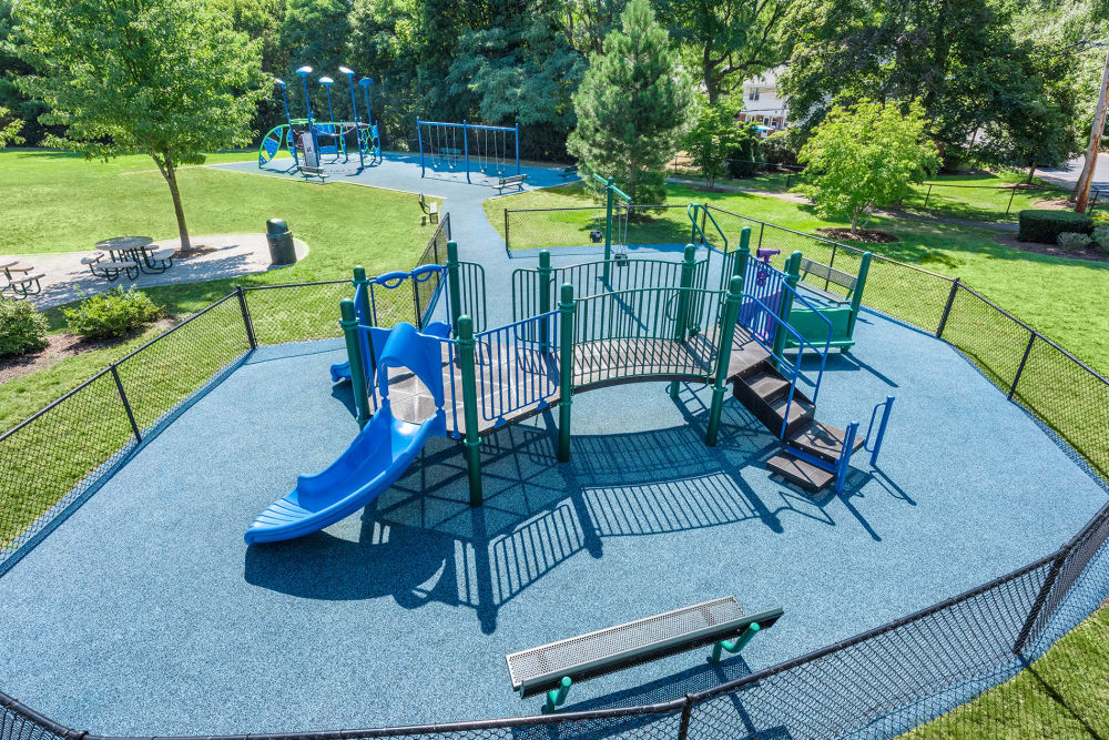 Playground at Stony Brook Commons in Roslindale, Massachusetts