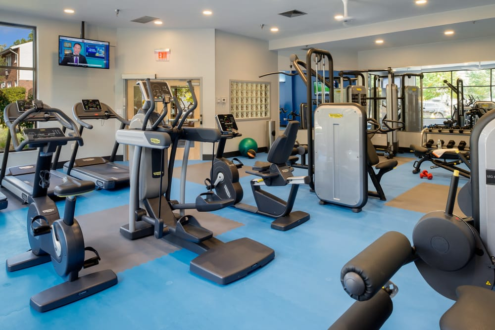 State-of-the-art fitness center at Stony Brook Commons in Roslindale, Massachusetts