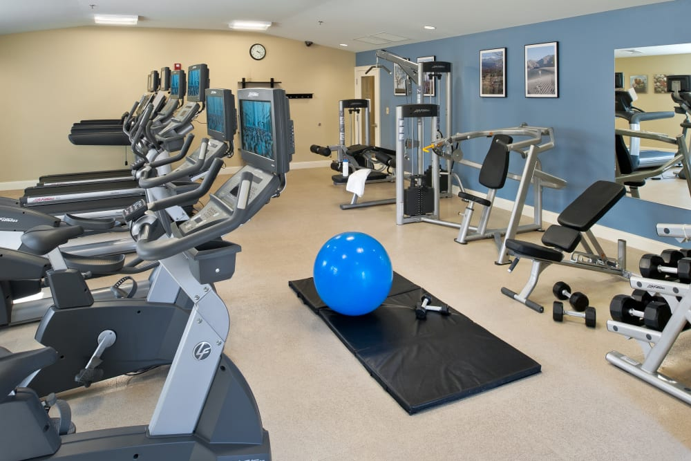 Fitness Center at The Fairways in Worcester, Massachusetts