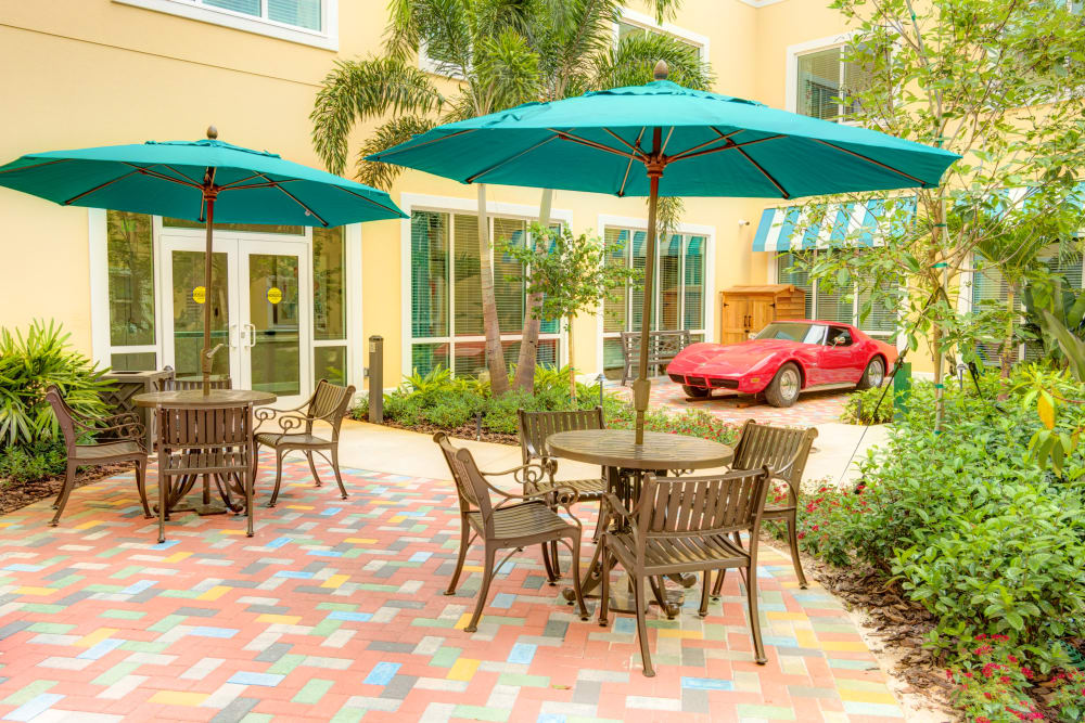 Courtyard at Symphony at Delray Beach in Delray Beach, Florida