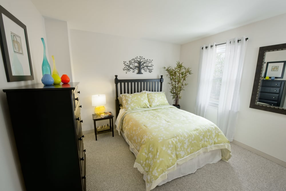 bedroom at The Fairways in Worcester, Massachusetts