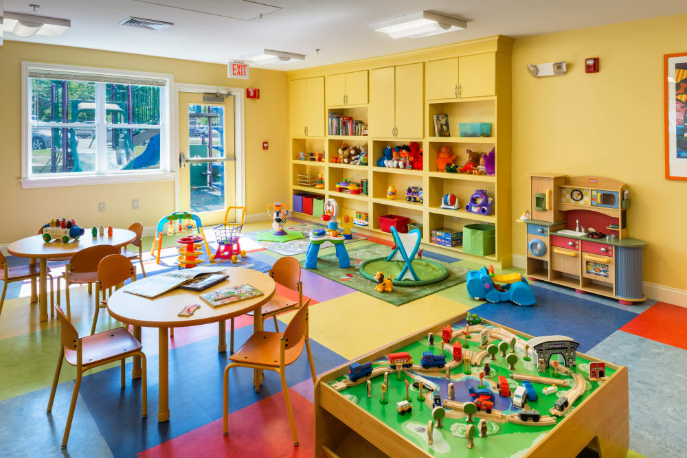 Toddlers room at The Fairways in Worcester, Massachusetts