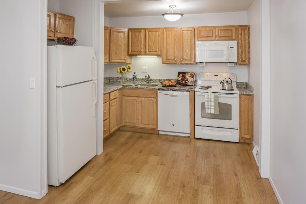 Kitchen at Taunton Gardens in Taunton, Massachusetts