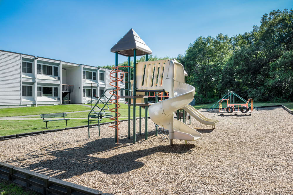 Playground at Taunton Gardens in Taunton, Massachusetts