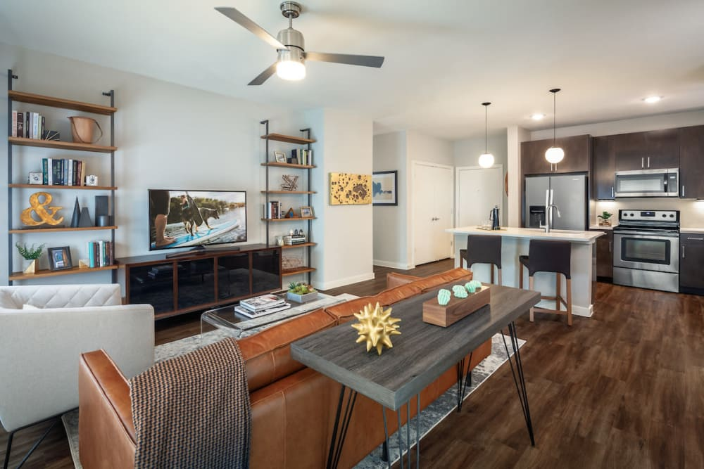 Spacious floor plan at Latitude at Presidio in Cedar Park, Texas