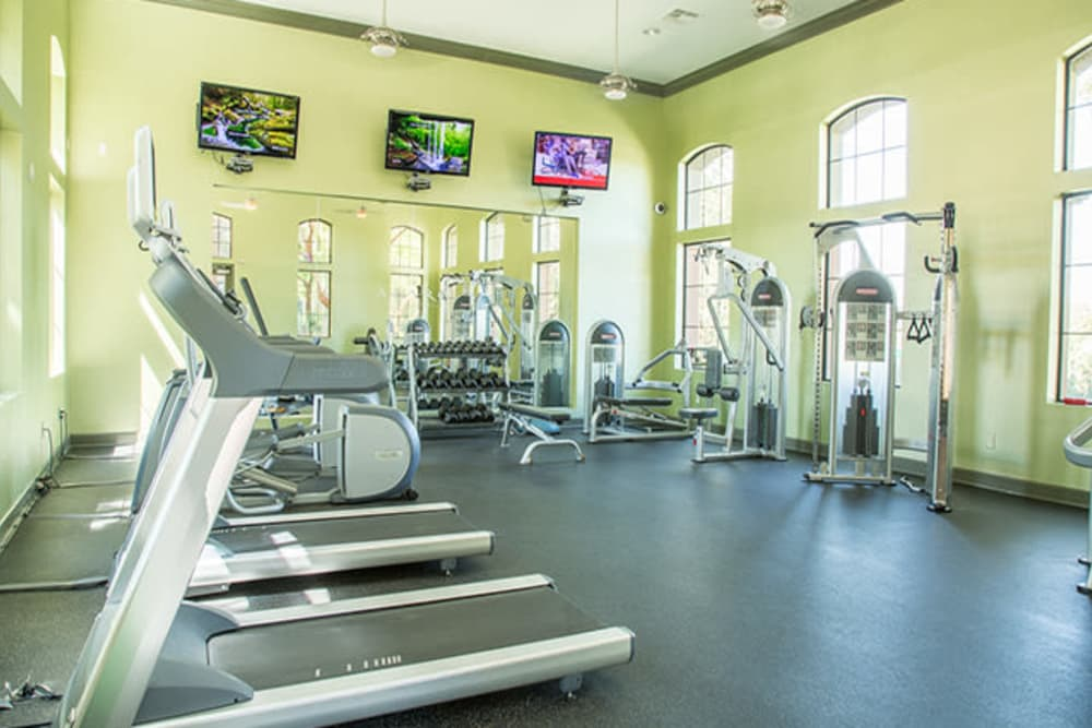 Fitness Center at Links at Westridge in Valencia, California